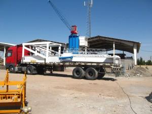EZA500adv-Iran, Concrete Batching Plant